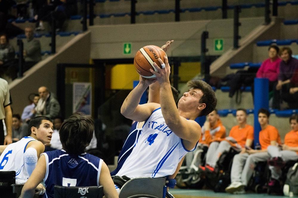 L'Italia all'Europeo U22 di basket in carrozzina