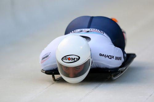 Mattia Gaspari atleta della nazionale italiana di skeleton