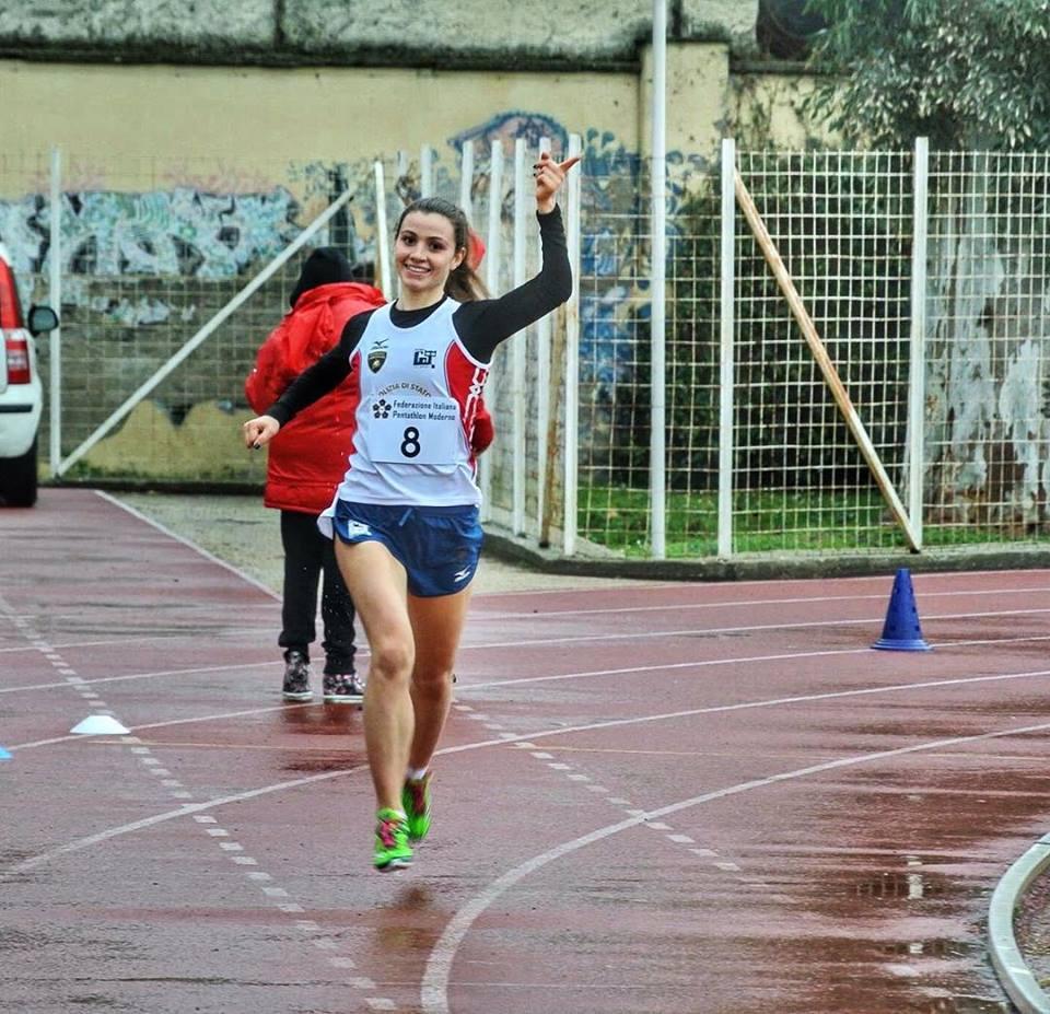 irene prampolini atleta di pentathlon moderno della nazionale italiana
