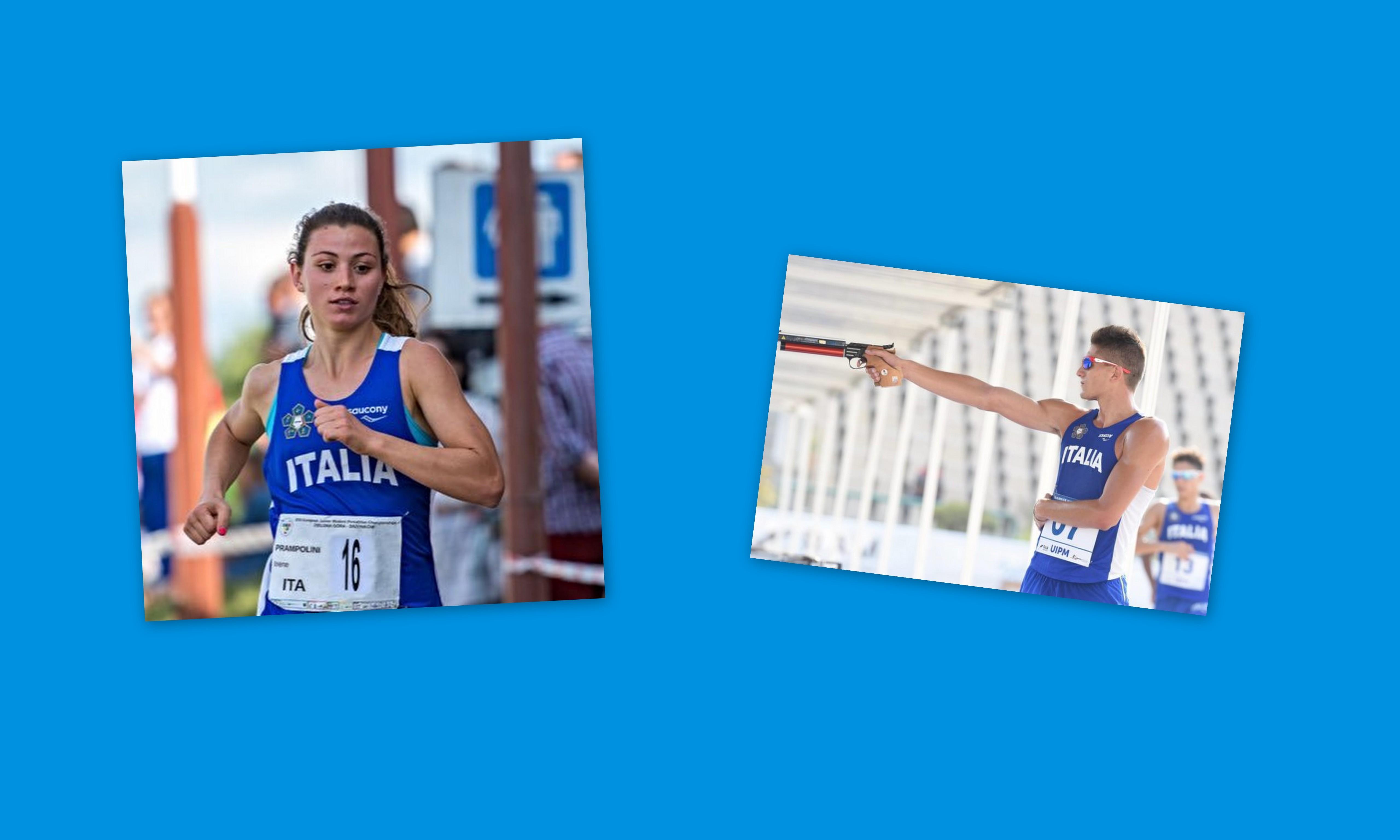 irene-prampolini-matteo-cicinelli-staffetta-mista-pentathlon-moderno-italia
