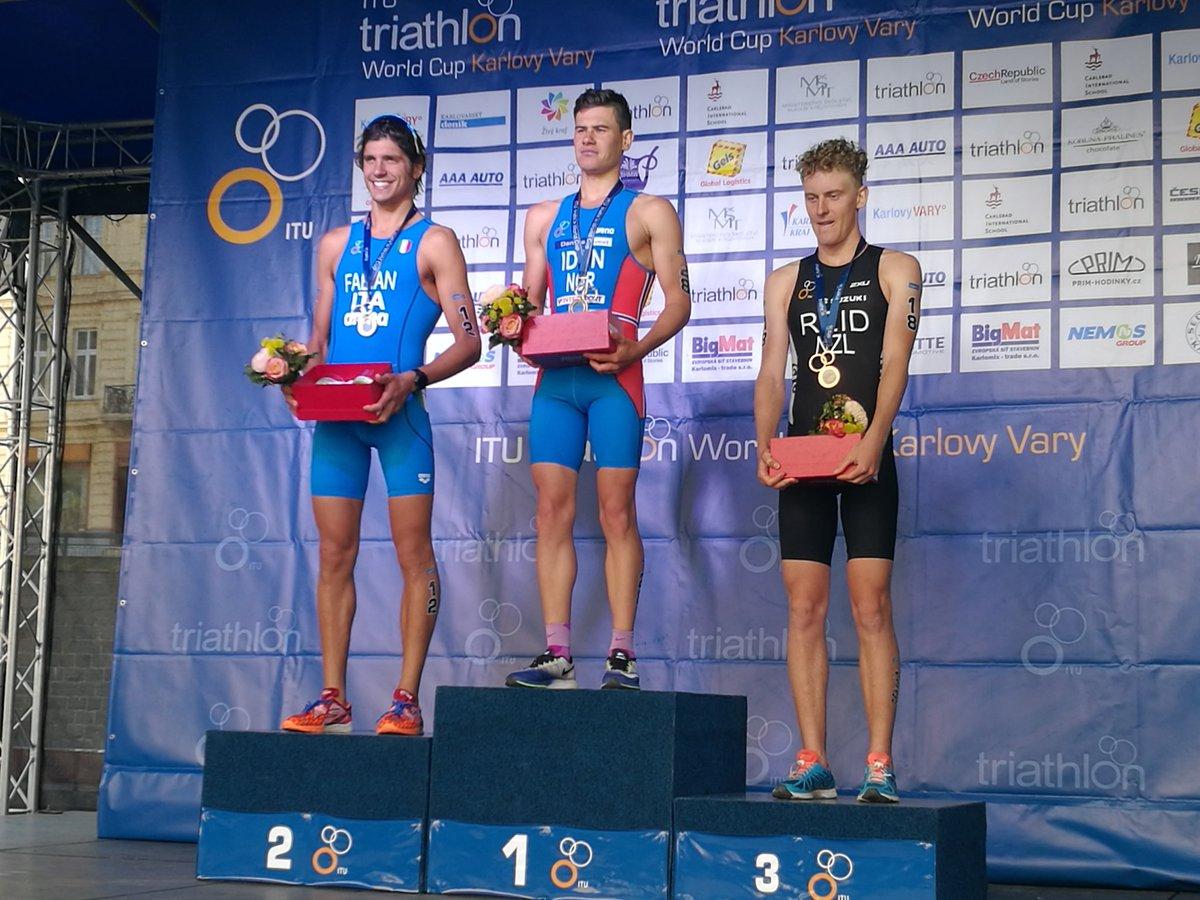 triathlon alessandro fabian argento coppa del mondo 2017 tappa di karlovy vary (repubblica ceca) italia gara maschile