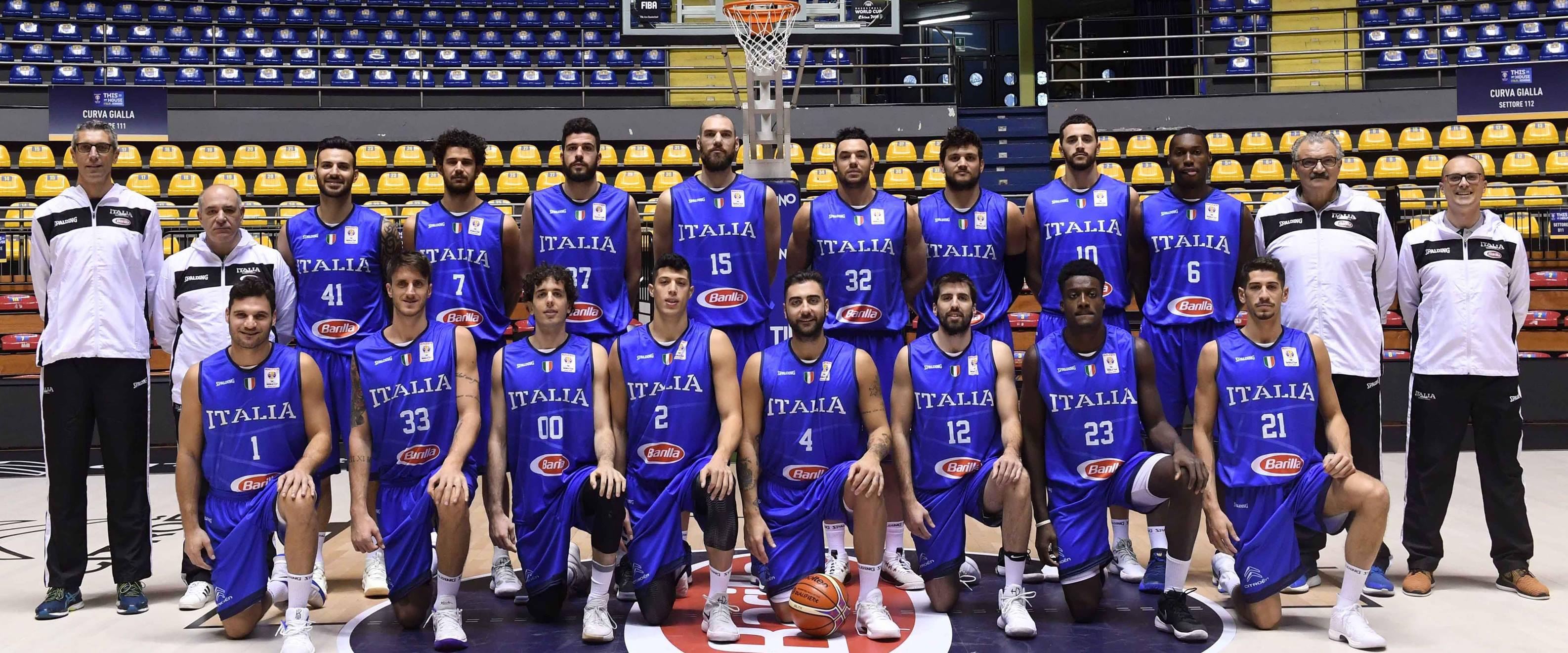 La Nazionale Italiana è pronta per le qualificazioni