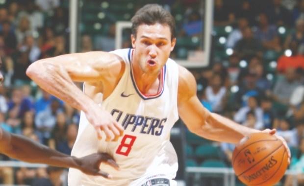 Danilo Gallinari in azione con la maglia dei Los Angeles Clippers