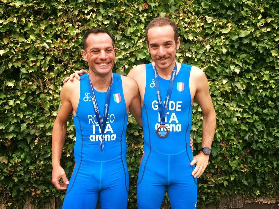 paratriathlon coppa del mondo 2018 devonport maurizio romeo ennio salerno italia triathlon paralimpico australia