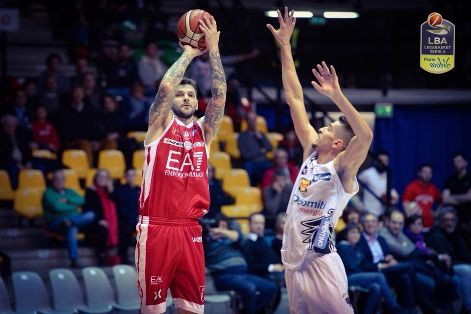 Basket serie A1, giornata 22^: Milano batte con fatica Trento