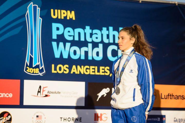pentathlon coppa del mondo 2018 los angeles (USA) alice sotero argento world cup 2018 pentathlon moderno italia