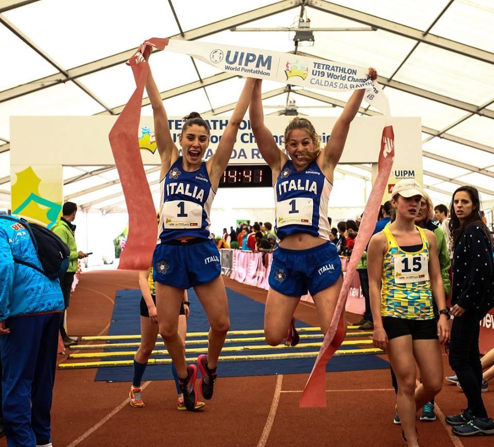pentathlon mondiali youth a 2018 alice rinaudo maria lopez staffetta femminile oro italia oro e argento individuali campionati del mondo youth a pentathlon moderno