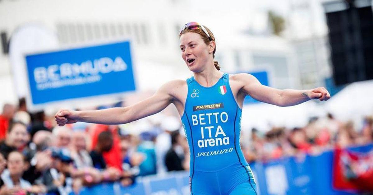 triathlon world series 2018 bermuda alice betto sesta italia sesto posto world triathlon series 2018