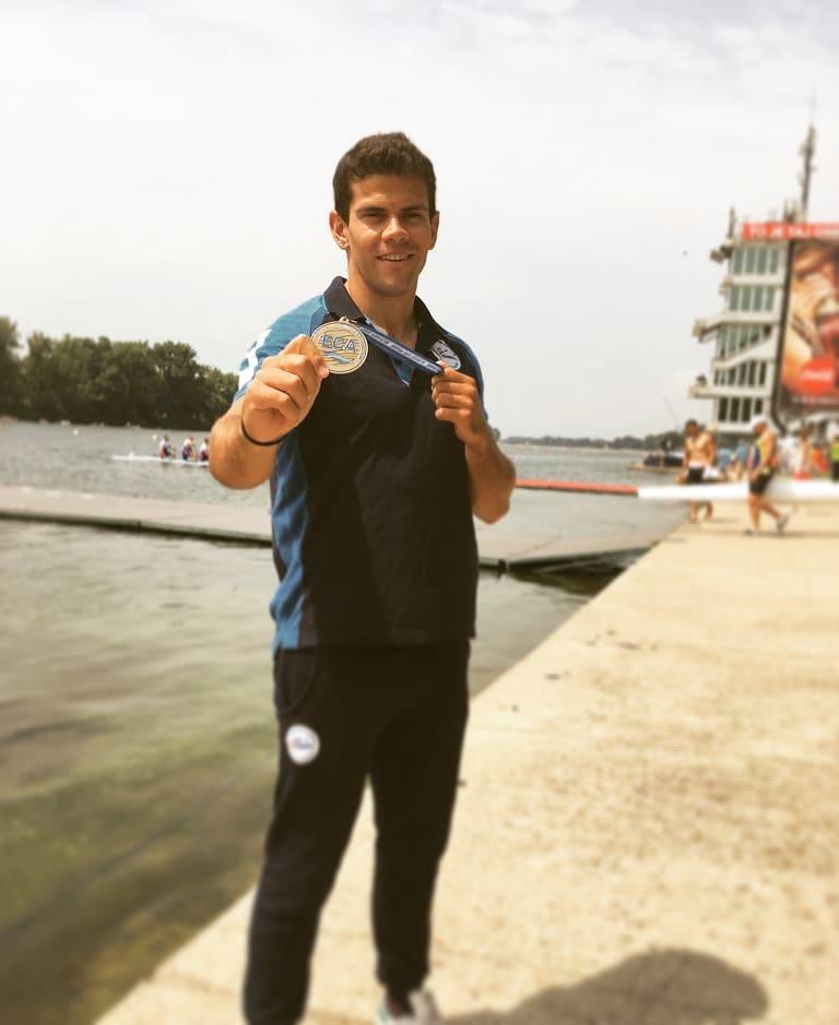 Carlo Tacchini bronzo agli Europei di Belgrado