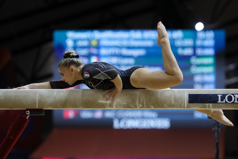 Lara Mori, Italia Team FONTE: FEDERGINNASTICA.IT
