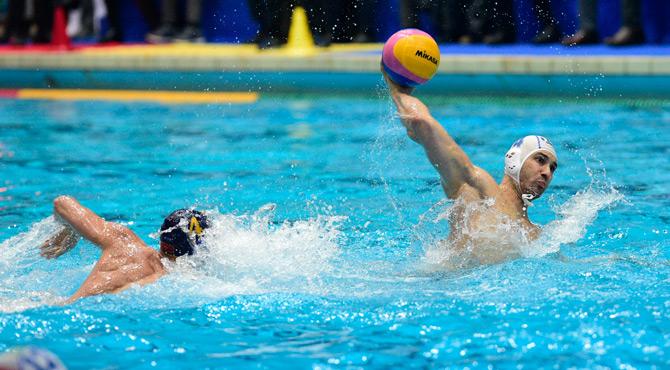 pallanuoto maschile europa cup 2019 gironi italia montenegro pietro figlioli 7bello settebello italy palermo waterpolo 2018/2019