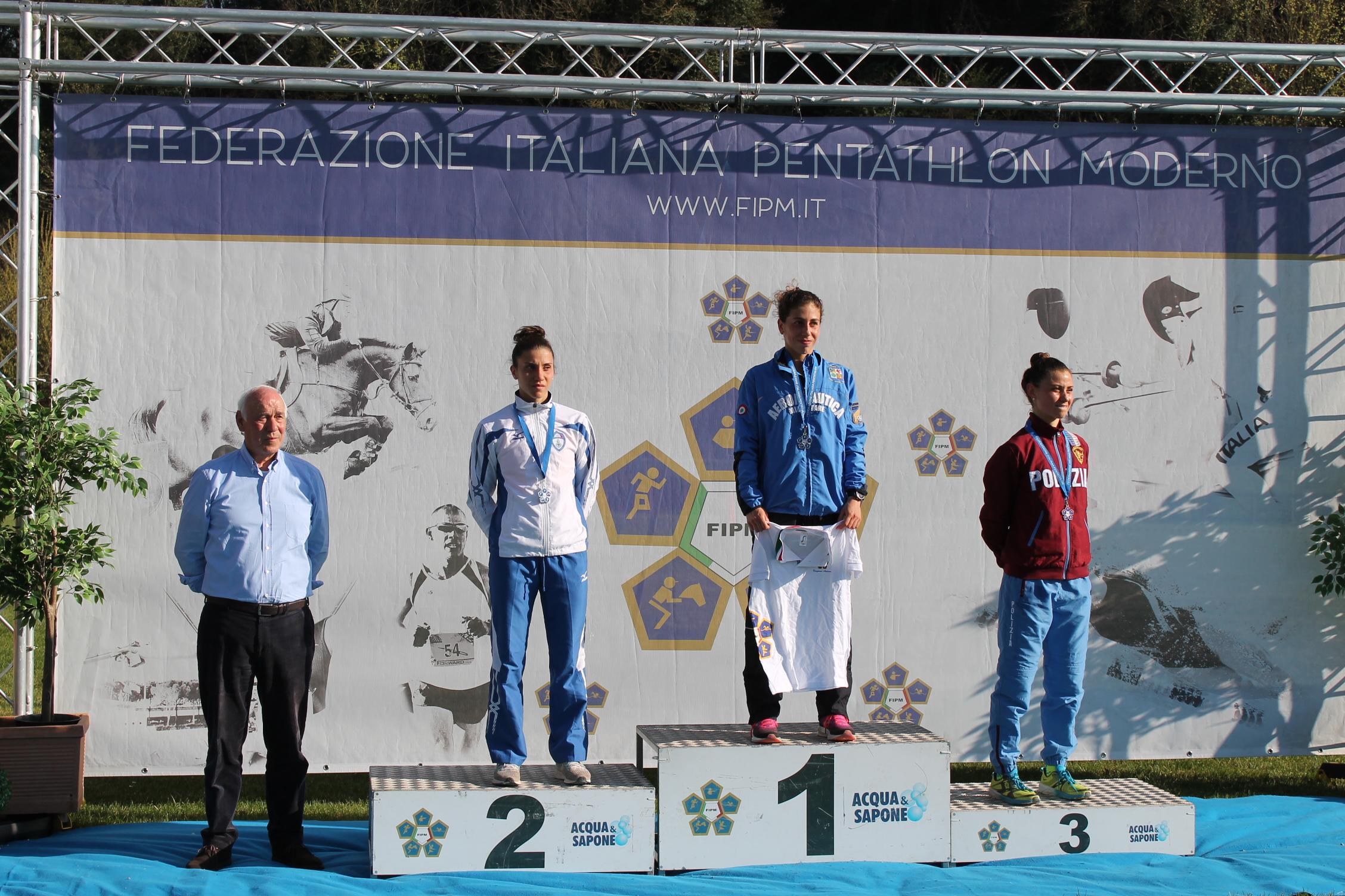 pentathlon campionati italiani 2019 alessandra frezza alice sotero irene prampolini italia italy pentathlon moderno roma