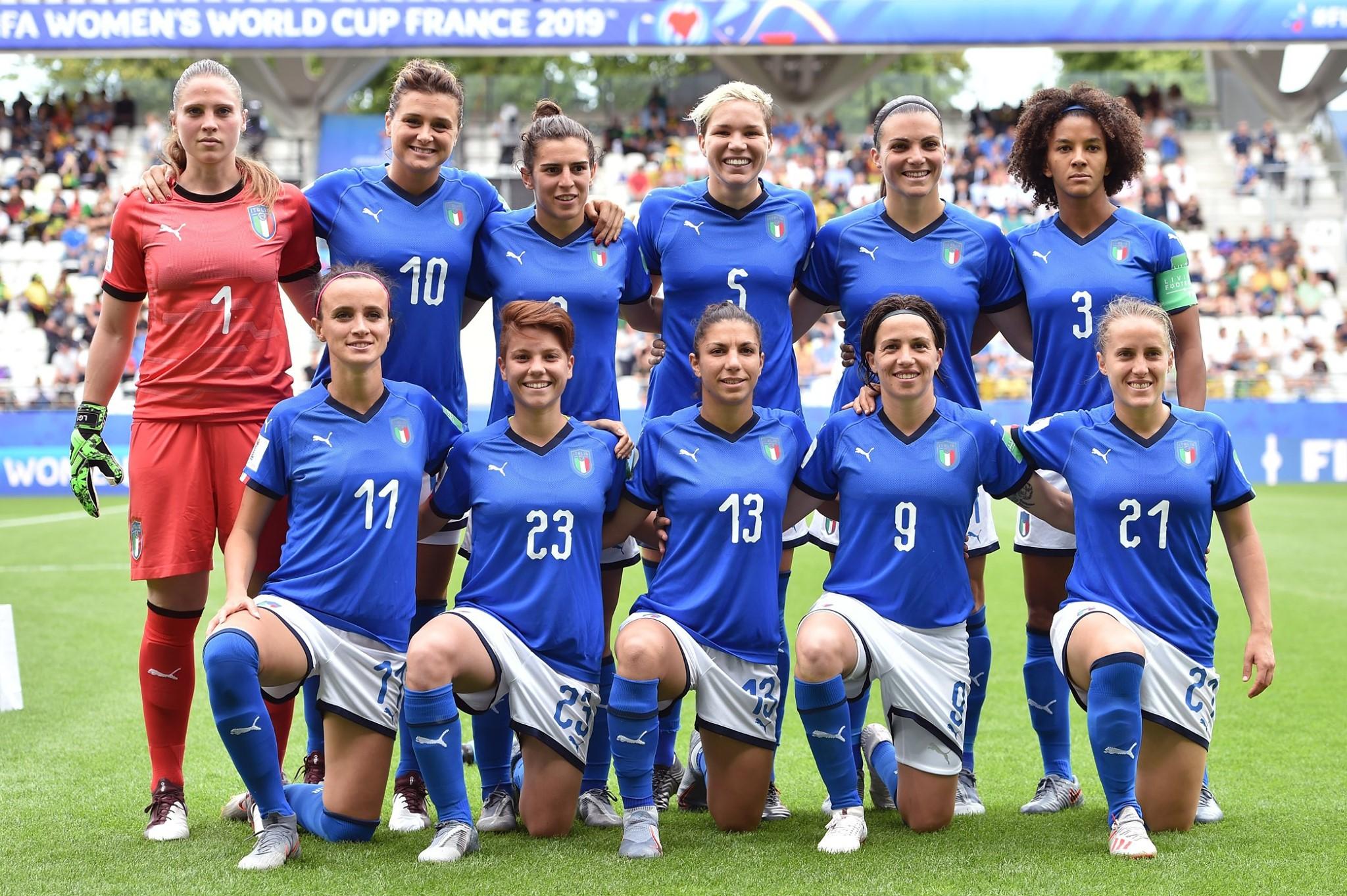Naizonale italiana calcio femminile
