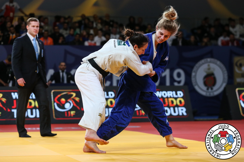 Francesca Giorda al Judo Grand Prix 2019 di Zagabria (CRO)