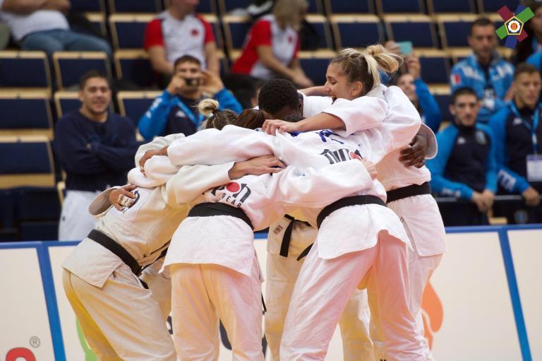 La squadra azzurra agli Europei Juniores 2019 di Judo, Vantaa (FIN)
