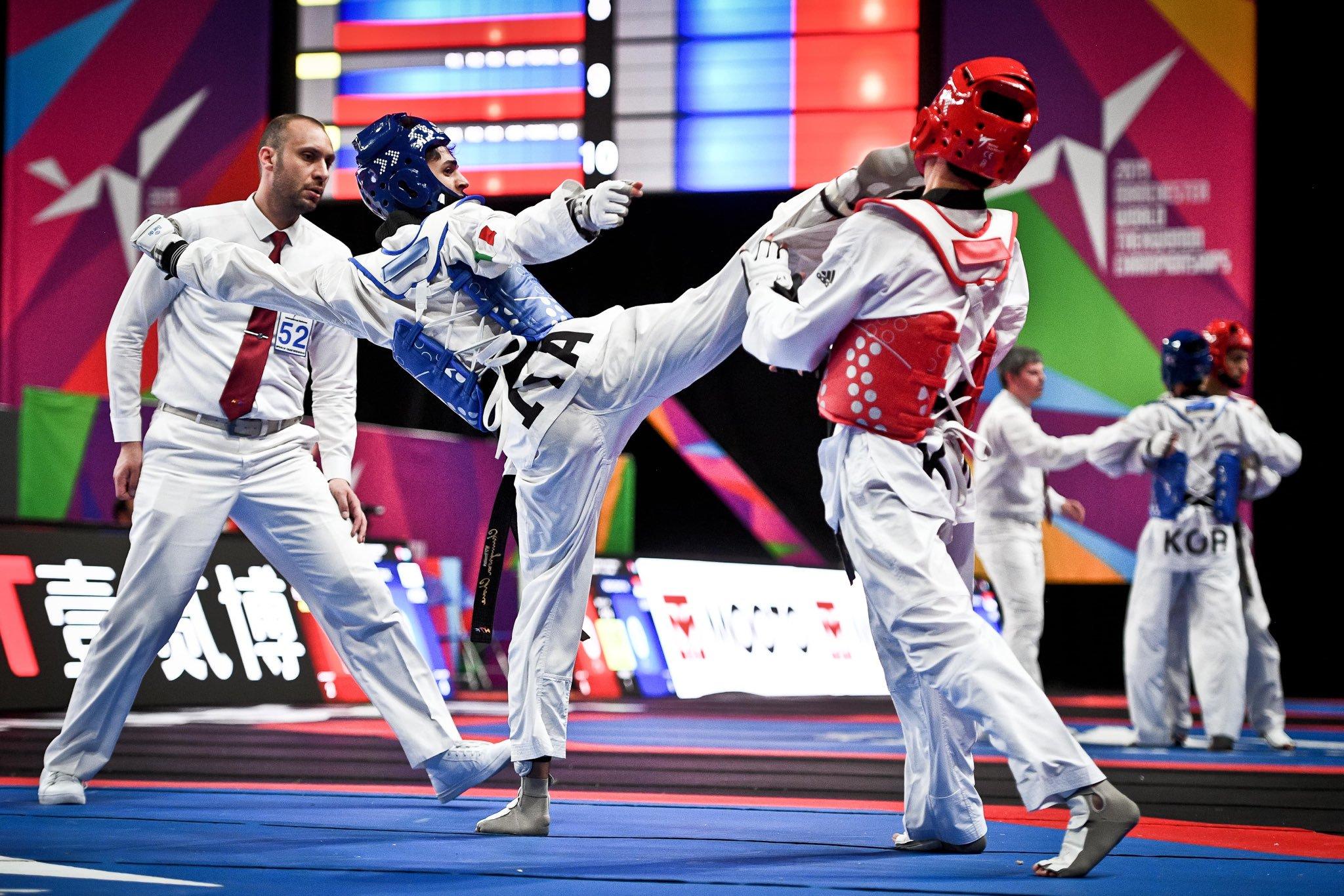 taekwondo grand prix chiba 2019 vito dell'aquila bronzo italia italy bronze categoria -58 kg giappone japan
