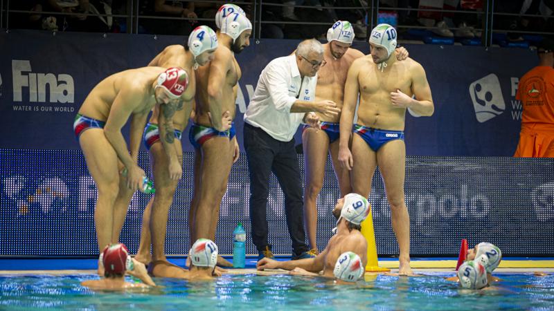 pallanuoto maschile world league 2019 gironi italia georgia settebello 7bello italy georgia world league 2019/2020 waterpolo male civitanova