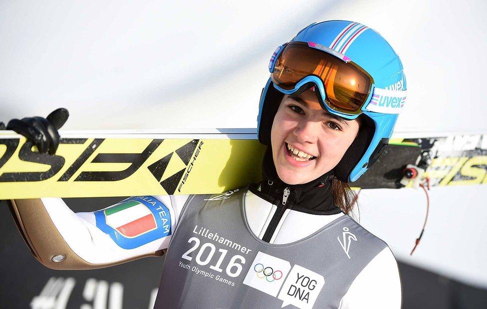 salto con gli sci coppa del mondo 2020 lara malsiner italia italy ski jump world cup sapporo val di fiemme italia