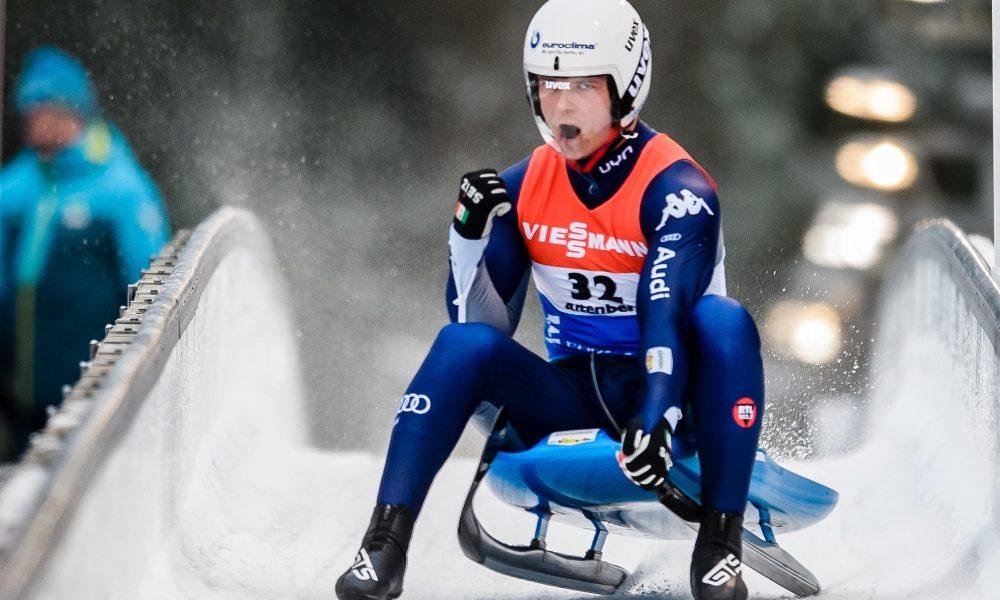 slittino europei 2020 coppa del mondo lillehammer dominik fischnaller oro italia italy luge campionato europeo european championships world cup gold norvegia