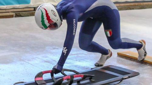 skeleton mondiali junior 2020 alessia crippa italia italy juniores world championships amedeo bagnis winterberg germania germany campionato del mondo mondiale