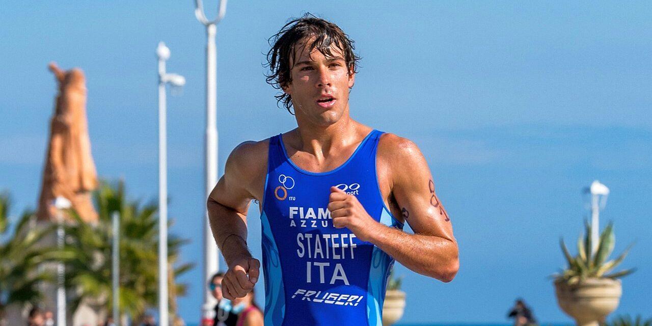 triathlon olimpico campionati italiani 2020 delian stateff campione luisa iogna-prat sharon spimi nicolò strada italia italy campionato italiano 2020 san benedetto del tronto