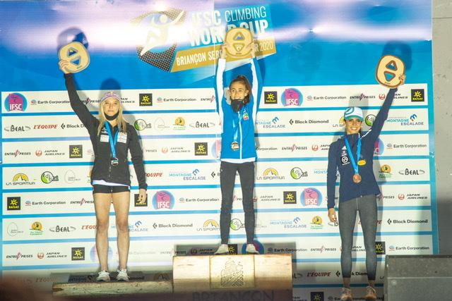 Laura Rogora sul podio