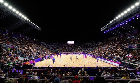 Roma, torneo 5 stelle di Beach Volley