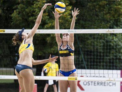 Menegatti/Orsi Toth impegnate a Baden (AUT) per una tappa del Beach Volley World Tour 2020