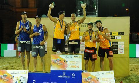 Abbiati/Andreatta sul podio a Lubiana (SVN)