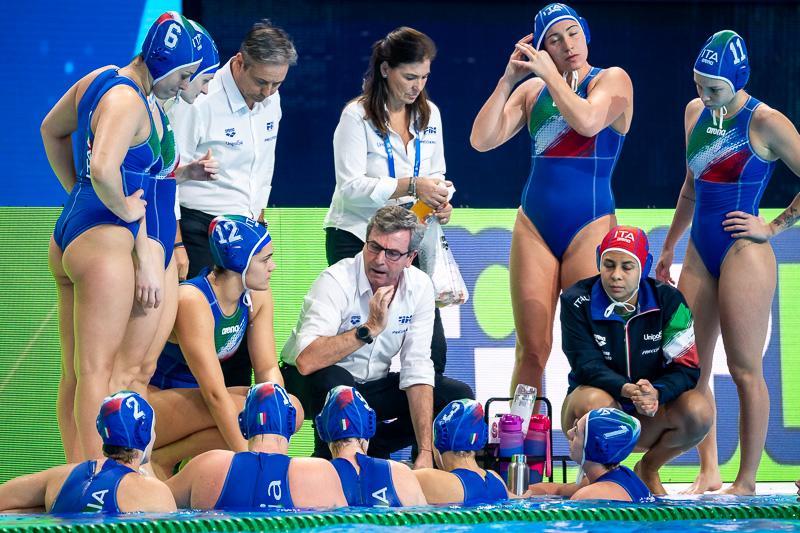 pallanuoto femminile preolimpico torneo trieste setterosa italia italy no olimpiadi waterpolo women torneo preolimpico 2021 tokyo 4° posto