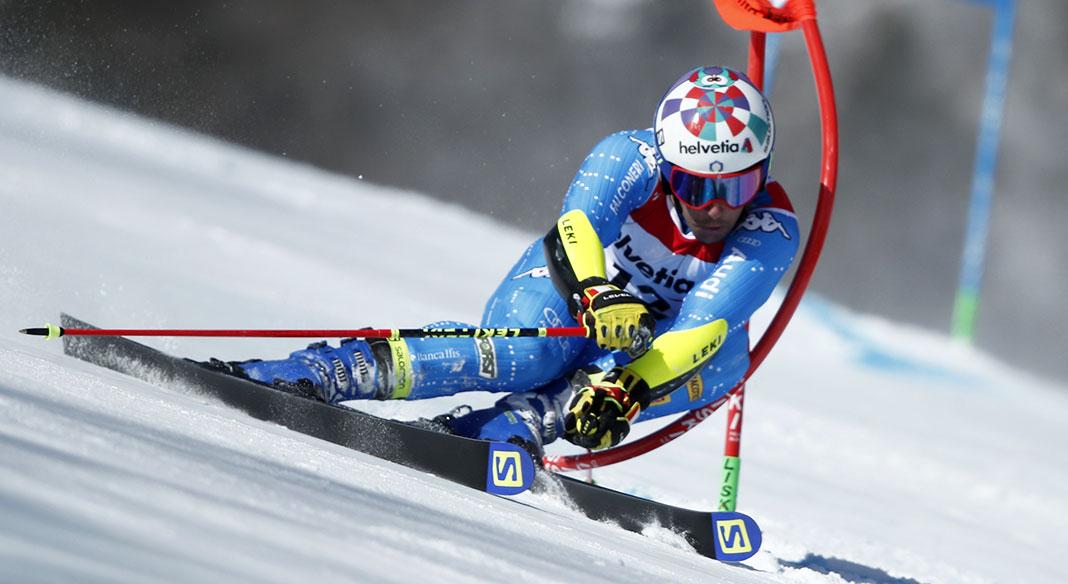 Luca De Aliprandini in azione