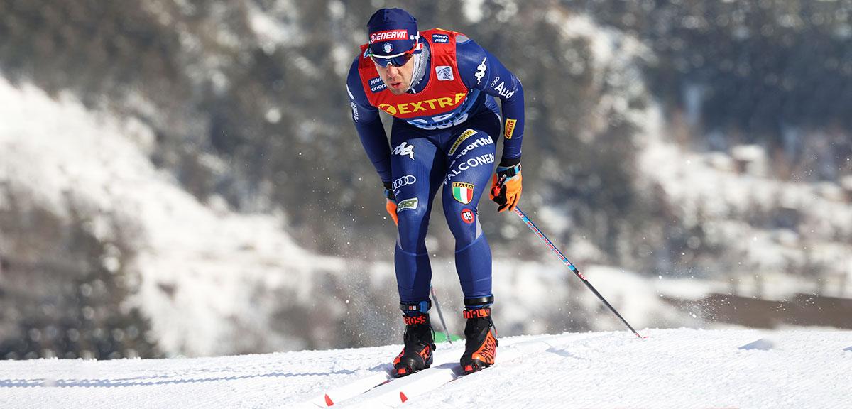 Federico Pellegrino in azione
