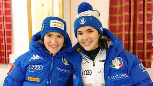 salto con gli sci coppa del mondo 2021 hinzembach lara malsiner jessica malsiner italia italy ski jumping world cup 2020-2021 austria