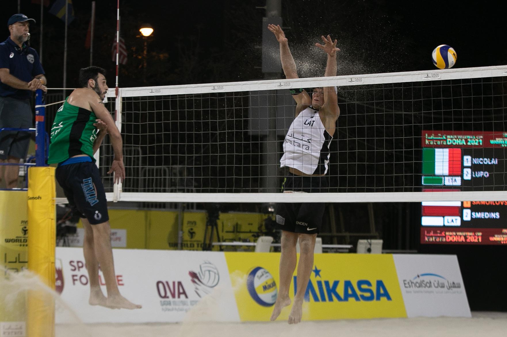 Nicolai/Lupo in Qatar