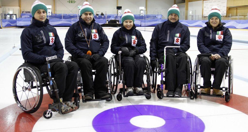 Nazionale Italiana di Wheelchair Curling
