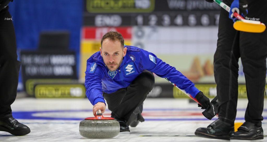 L'Italia del curling in azione