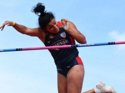 atletica bruni record italiano roberta salto con l'asta italia italy atletica leggera athletics pole vault italian record firenze