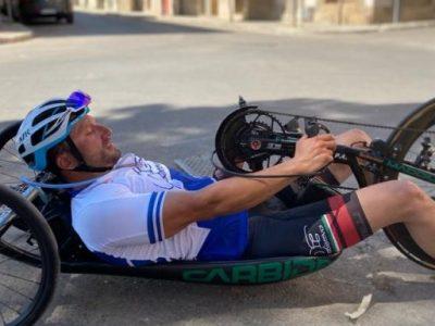 paratriathlon world series 2021 yokohama pier alberto buccoliero italia triathlon paralimpico paralympics italy giappone japan