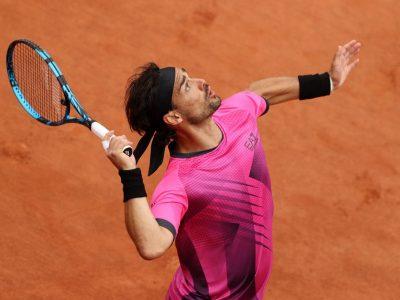 Fabio Fognini al Roland Garros
