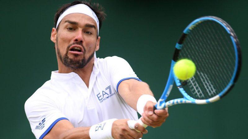 Fabio Fognini a Wimbledon