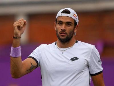 Matteo Berrettini vincente al Queen's