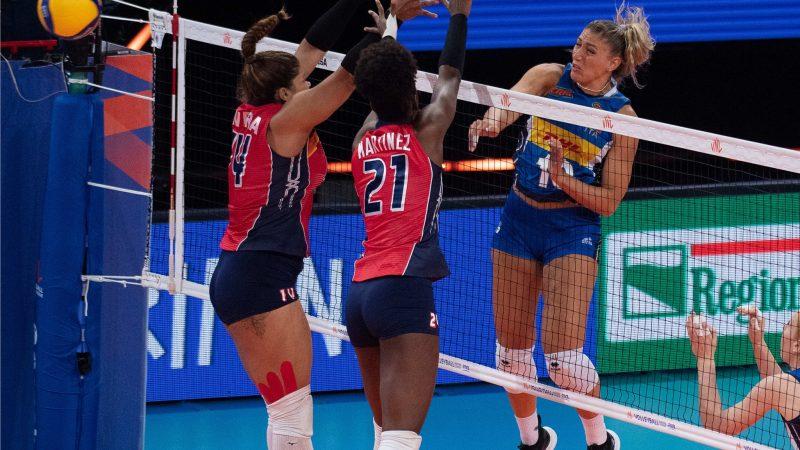 Volley Nations League, Repubblica Domenicana - Italia 3-1 FONTE: Federazione Italiana di Pallavolo