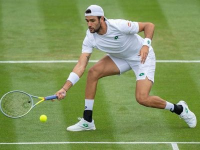 Matteo Berrettini a Wimbledon 2021