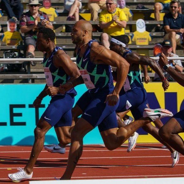 atletica diamond league 2021 stoccolma marcell jacobs 100 metri atletica leggera athletics wanda diamond league stockolm 2° posto 2° place 100 meters