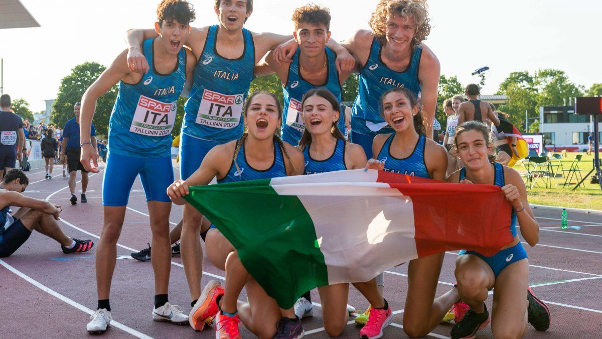 atletica europei u20 2021 tallinn staffette 4x400 atletica leggera europei under 20 european championships italia italy 8 medaglie mixed relay