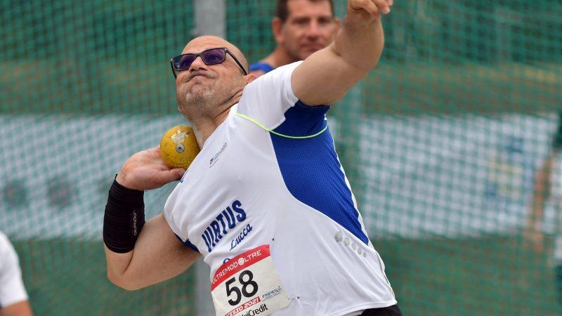 atletica paralimpica campionati italiani assoluti 2021 nicky russo atletica leggera paralimpica campionato italiano lancio del peso getto del peso