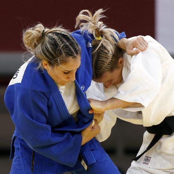 Maria Centracchio in azione durante le Olimpiadi di Tokyo 2020