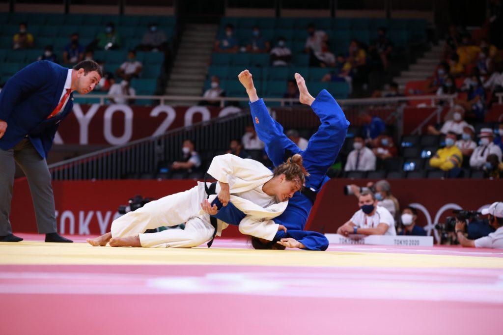 Odette Giuffrida in azione durante le Olimpiadi di Tokyo 2020