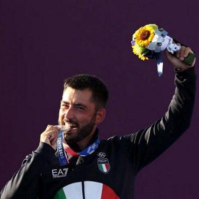 olimpiadi tokyo 2020 giorno 8 mauro nespoli argento tiro con l'arco italia italy olympics archery silver final giochi olimpici