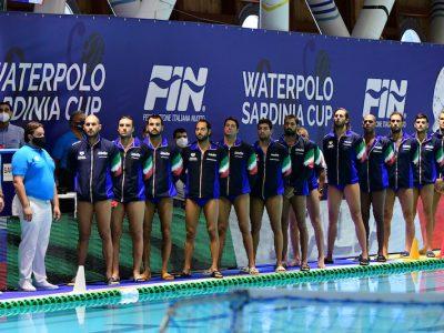 pallanuoto maschile sardinia cup 2021 italia settebello 7bello italia waterpolo cagliari